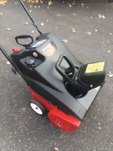 YARD MACHINE SNOWBLOWER 4 CYCLE 21 INCH CUT