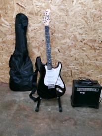 Rockjam Electric Guitar + Accessories