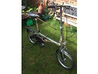 "Dawes Metropolis Folding Around Town Bike "" Reduced For Quick Sale"""