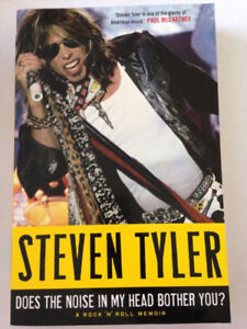 Steven Tyler - Does the Noise in my Head Bother You? Hardcover