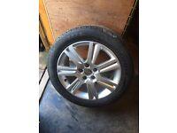 Audi A4 alloy wheel