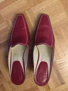 Gently used Tod's Red slip on - size 39 or 8 / 8.5