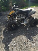 2010 CanAm DS 90x upgraded