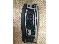 Hardly used Microsoft Wireless Laser Keyboard 6000 V2.0