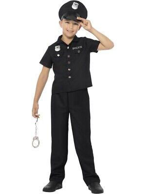 New Yorker Polizisten Kostüm New York Cop Kinder - Kind Cop Kostüme