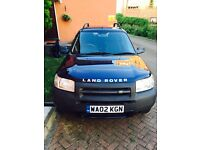 FREELANDER 02, petrol 1.8 £1100.00 FULL MOT