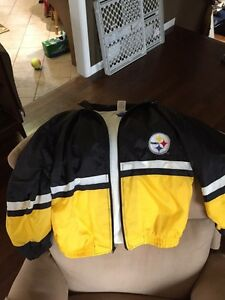 Steelers youth xl spring fall jacket