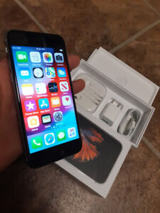 LIKE NEW IN BOX IPHONE 6S  (128 GB) STORAGE