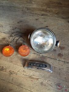Headlight and blinkers 1978 Honda 750