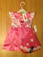 New princess costume size 6-12 months