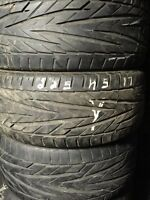 2 summer tires general exclaim 225/45/17
