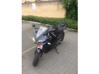 Black Yamaha Yzf R125 With Sports Exhaust, HPI CLEAR!