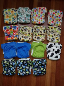 15 Trim and Cute Cloth Diapers!