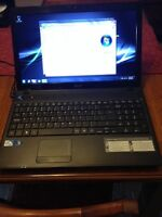 acer aspire 5736z. 500 GB HD. 4 GB ram. Win7