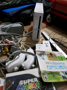Wii game station with 8 games