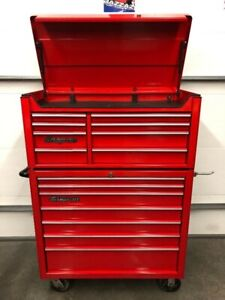 Snap On top and bottom toolboxes