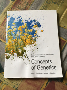 BIOL2040: Concepts of Genetics