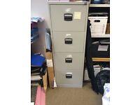 4 drawer metal lockable filing cabinet