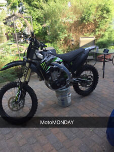 KXF450 monster edition  FOR SALE