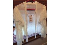 White shirt from Zara