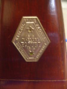 Vintage Maelzel Paquet 1815-1846 Metronome Made in France