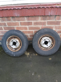 Mini / trailer wheels