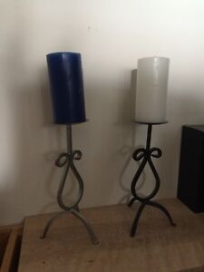 Candle + holders