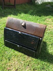Original 1950's cast iron fireplace