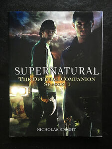 Supernatural The Official Companion Season 1 by Nicholas Knight