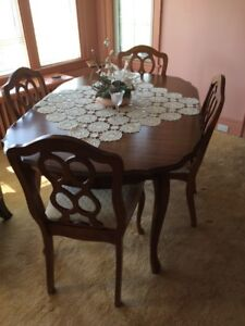 Dining Room Set  -  French Provincial