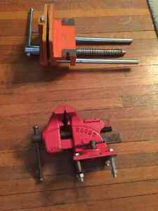 Bench Vise & Woodworker Bench