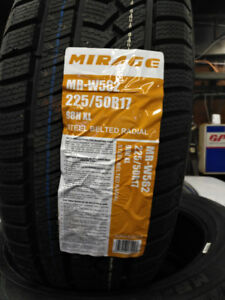 Winter tires new mirage  225/50R17