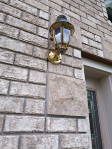 Outdoor house lights (2 for $15.00)