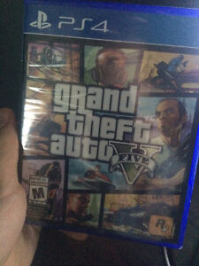 Fully sealed new grand theft auto 5.