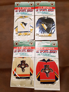 NHL LIL Sports jersey air fresheners