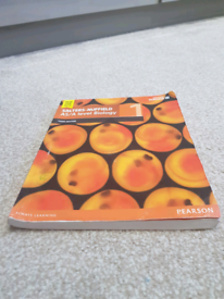 Salaters nuffield As/a level biology book 1 for sale  Slough, Berkshire