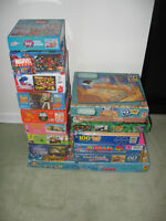 """"""" 14 """" puzzles + 1 game for ONLY $ 10.00 !!!!!!!!!!!!!!"""
