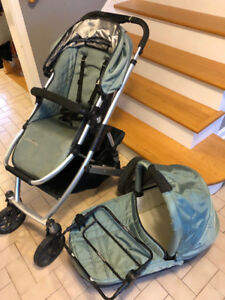 UPPAbaby Vista stroller with bassinet