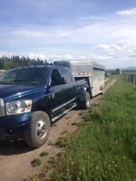 2007 dodge 3500 mega dually 6 speed Laramie