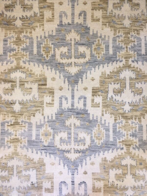 Interesting Ikat - Modern Rug - Contemporary Collection - 8 X 10 Ft.