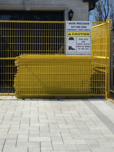 Temporary Fencing - Panels for Rent
