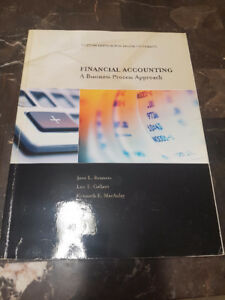 1st year accounting books for Brock University