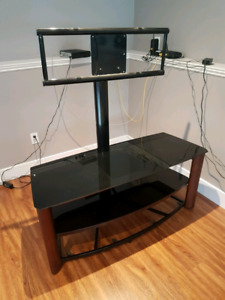 TV stand with built in tv mount