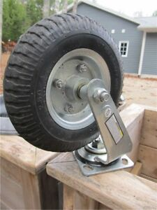 4 - 8 in. Pneumatic Swivel Casters Wheels
