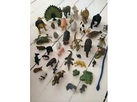LARGE LOT TOY unisex play ANIMALS ELC ETC 42 IN TOTAL BRENTWOOD COLLECT £40