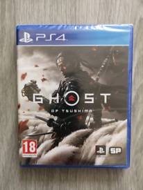 Ghost of Tsushima PS4 brand new sealed