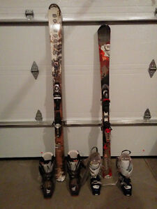 Basically new mens & Womens Skis and Boots - used twice