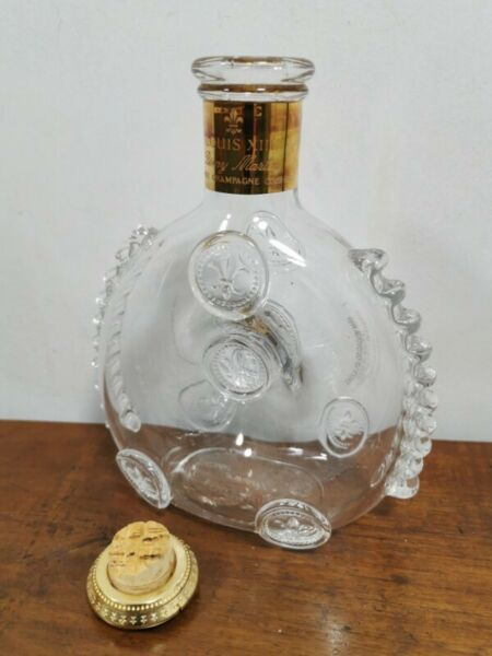 Cognac LOUIS XIII Baccarat Crystal Glass Decanter empty bottle