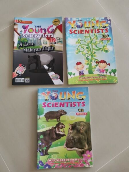 Young scientists levels 1, 2 & 3