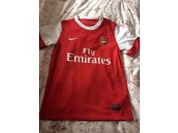 2x Arsenal shirts